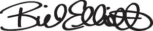 Bill Elliott Signature decal