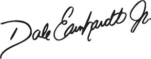 Dale Earnhardt Jr Signature decal