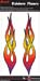 Rainbow Flames Set