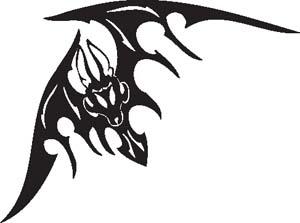 Tribal Bat 15