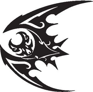 Tribal Bat 40