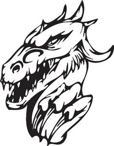 Dragon decal 3