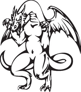 Dragon decal 26