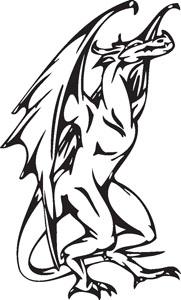 Dragon decal 33