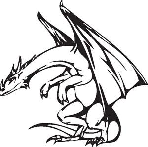 Dragon decal 64