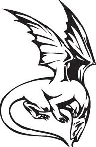 Dragon decal 35