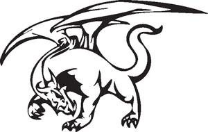 Dragon decal 36