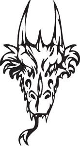 Dragon decal 39