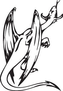 Dragon decal 45