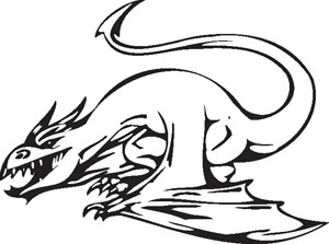 Dragon decal 47