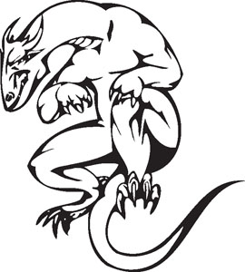Dragon decal 48