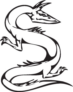 Dragon decal 50