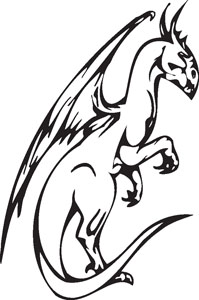 Dragon decal 54