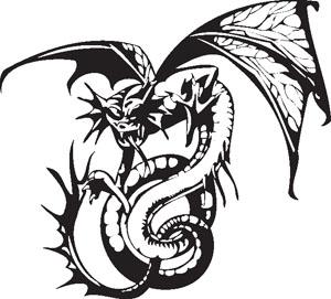 Dragon decal 56