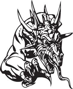 Dragon decal 60