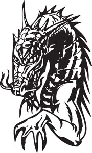 Dragon decal 69