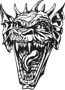 Dragon decal 72