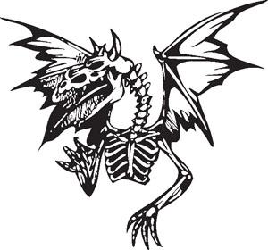 Dragon decal 75