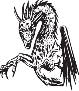 Dragon decal 77