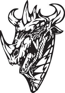 Dragon decal 80