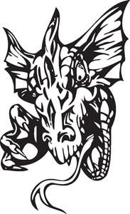 Dragon decal 82