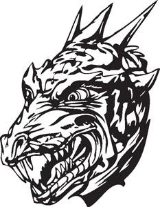 Dragon decal 89