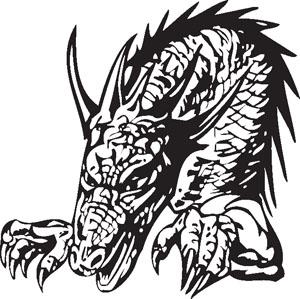 Dragon decal 91