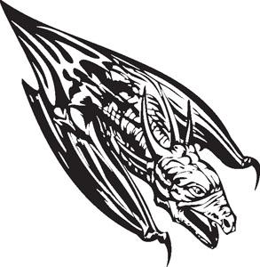 Dragon decal 93