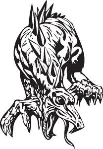 Dragon decal 94