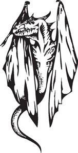 Dragon decal 98